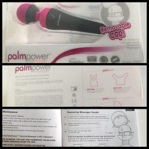 Het doosje van de Palm Power Wand