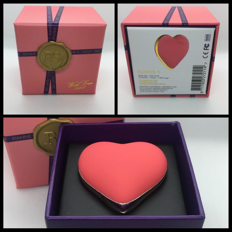 De Rianne S Heart Vibe heeft een prachtige verpakking!