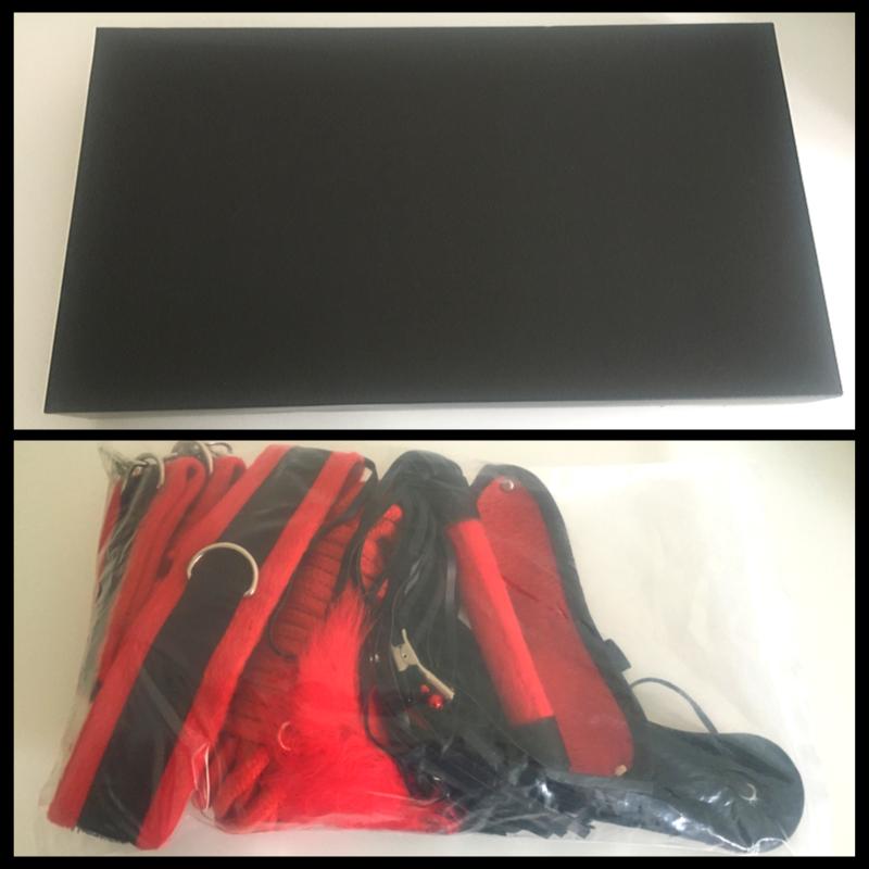 De bescheiden verpakking van de Bori Beginners Bondage Set